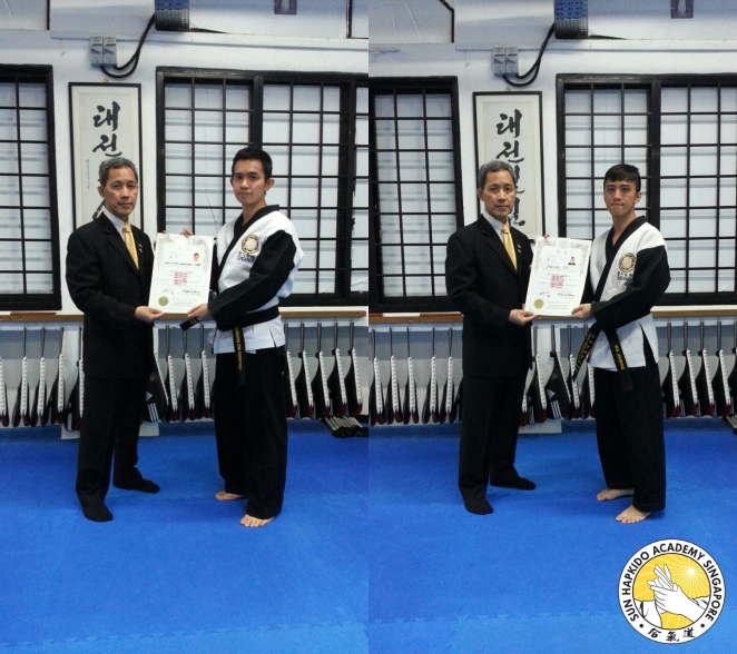Black Belt Certificate Presentation 9Jan15